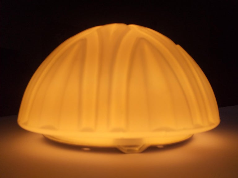 Set of Six Midcentury Wall or Ceiling Lamps, Flushmount, 1970s For Sale 3