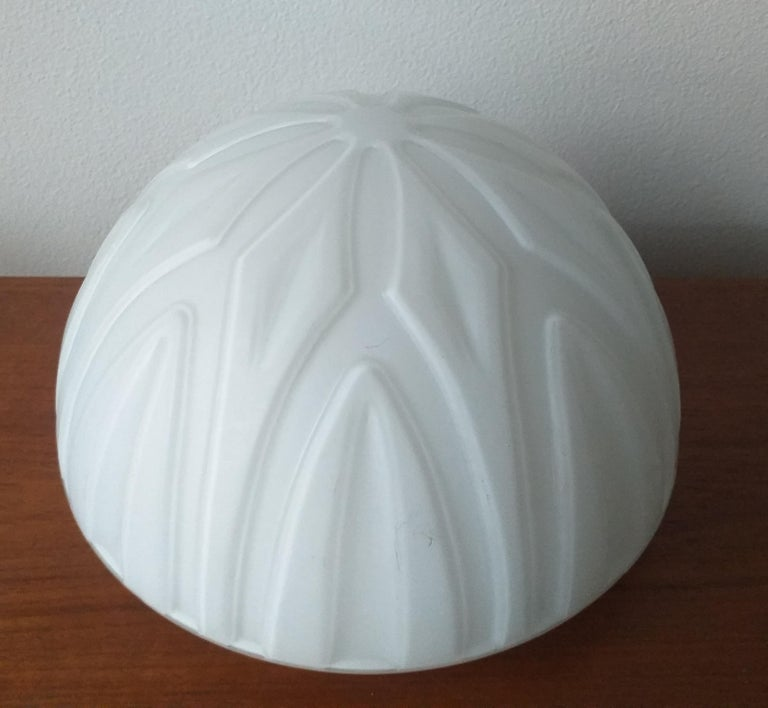 Set of Six Midcentury Wall or Ceiling Lamps, Flushmount, 1970s For Sale 4
