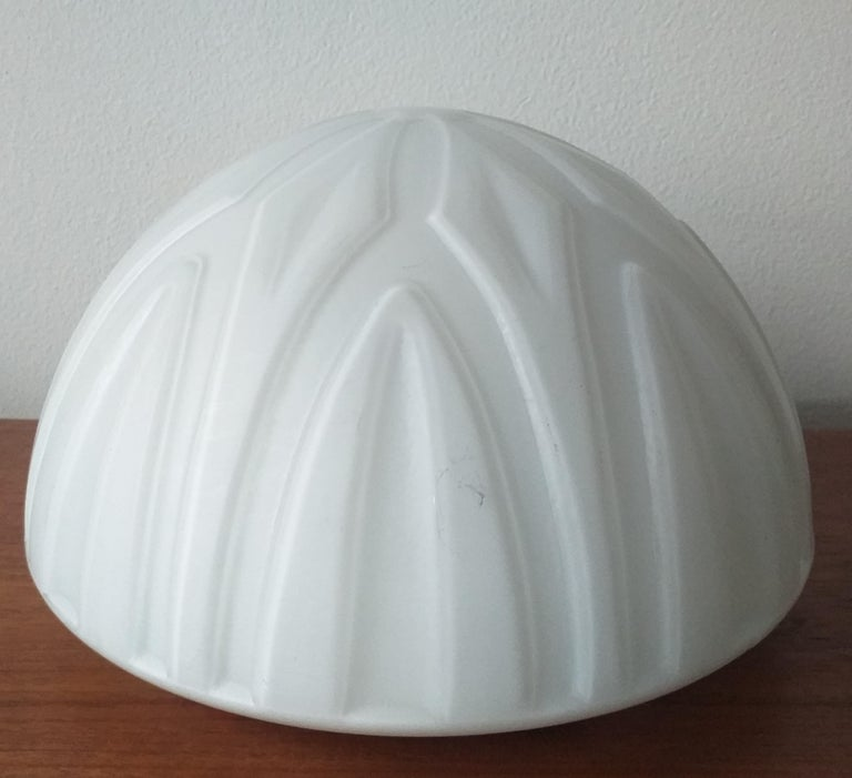 Set of Six Midcentury Wall or Ceiling Lamps, Flushmount, 1970s For Sale 5