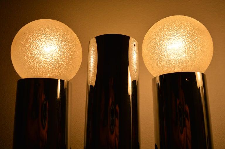 Set of Six Midcentury Wall Lamp Sconces Staff Leuchten, Motoko Ishii, 1970s For Sale 3