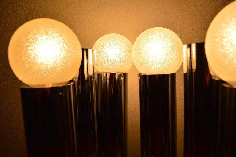Set of Six Midcentury Wall Lamp Sconces Staff Leuchten, Motoko Ishii, 1970s For Sale 4