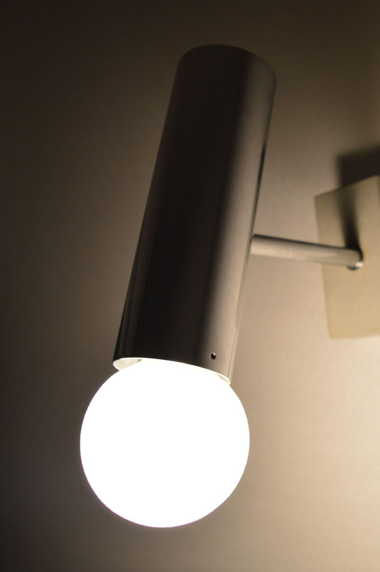Set of Six Midcentury Wall Lamp Sconces Staff Leuchten, Motoko Ishii, 1970s For Sale 5