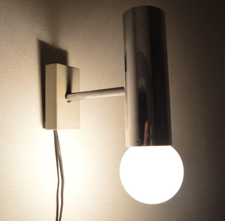 Set of Six Midcentury Wall Lamp Sconces Staff Leuchten, Motoko Ishii, 1970s For Sale 6
