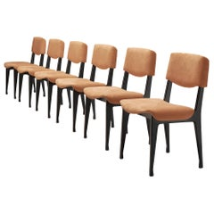 Set of Six MIM Roma Dining Chairs