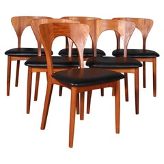 Set of Six Niels Koefoed Dining Chairs