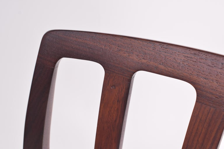 "Set of Six Niels Møller ""Model 83"" Rosewood Dining Chairs for J.L. Møller 9"