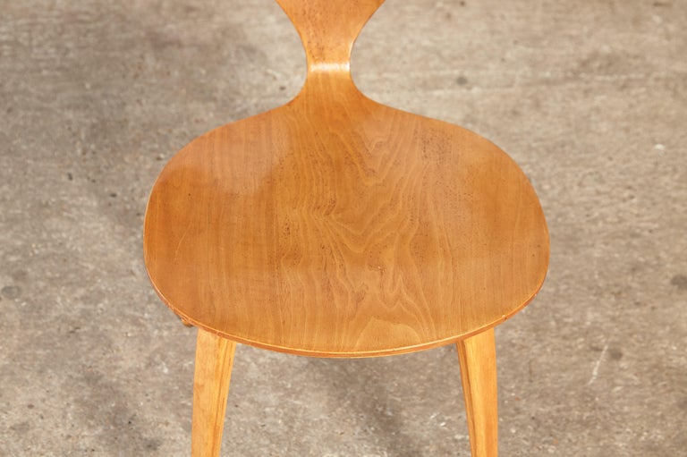 Set of Six Norman Cherner Dining Chairs, Plycraft, USA, 1960s For Sale 7