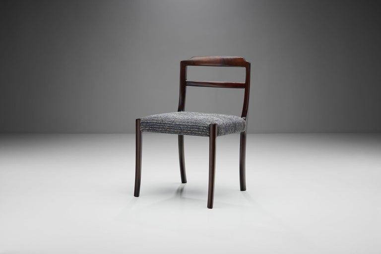 Set of Six Ole Wanscher Dining Chairs for A. J. Iversen, Denmark, 1960s For Sale 3