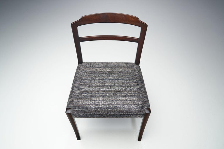 Set of Six Ole Wanscher Dining Chairs for A. J. Iversen, Denmark, 1960s For Sale 6