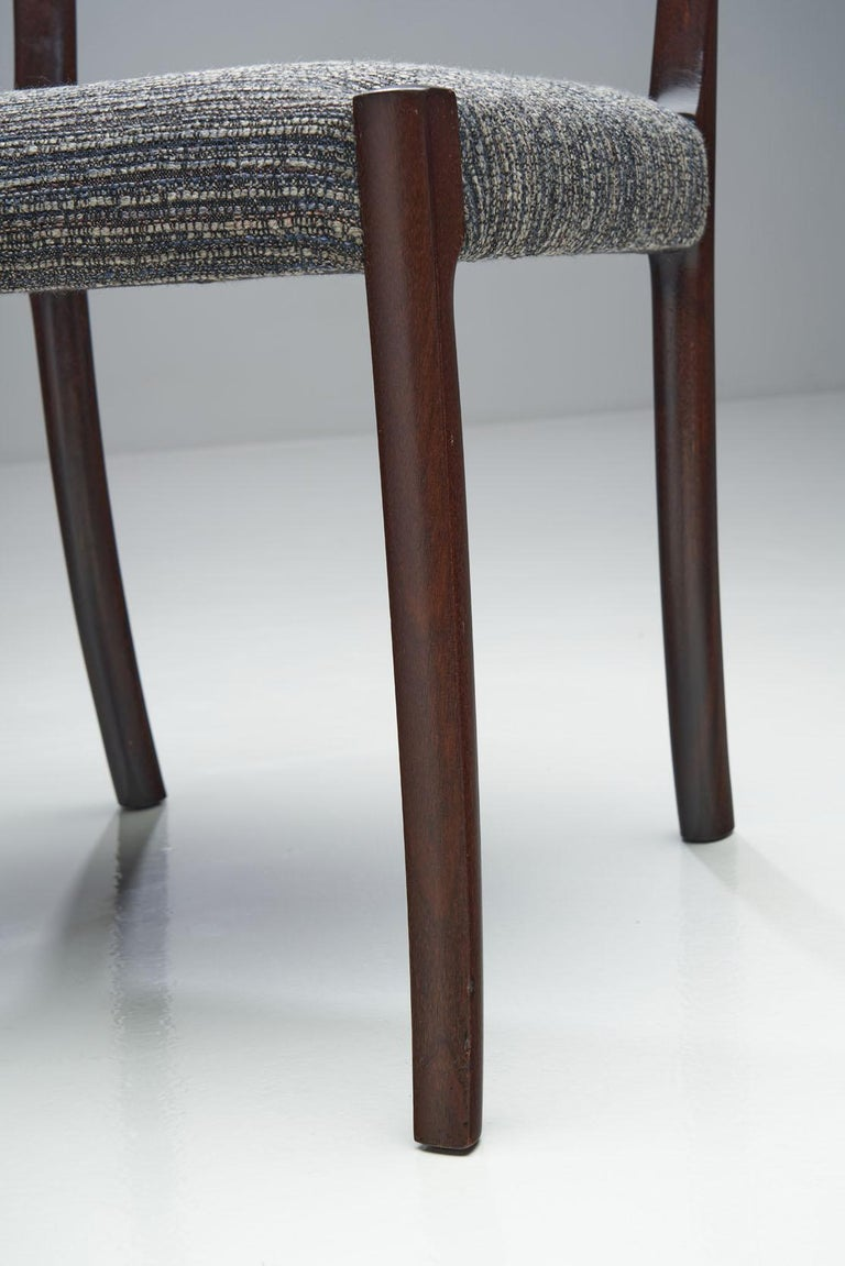 Set of Six Ole Wanscher Dining Chairs for A. J. Iversen, Denmark, 1960s For Sale 12