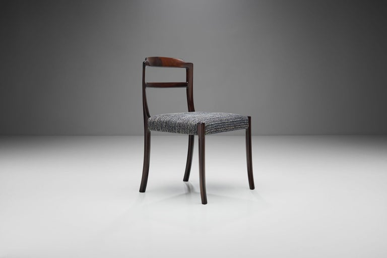 Set of Six Ole Wanscher Dining Chairs for A. J. Iversen, Denmark, 1960s For Sale 1