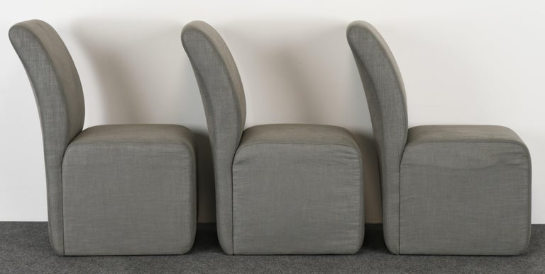 Set of Six Paul Evans Dining Chairs, 1982 For Sale 4