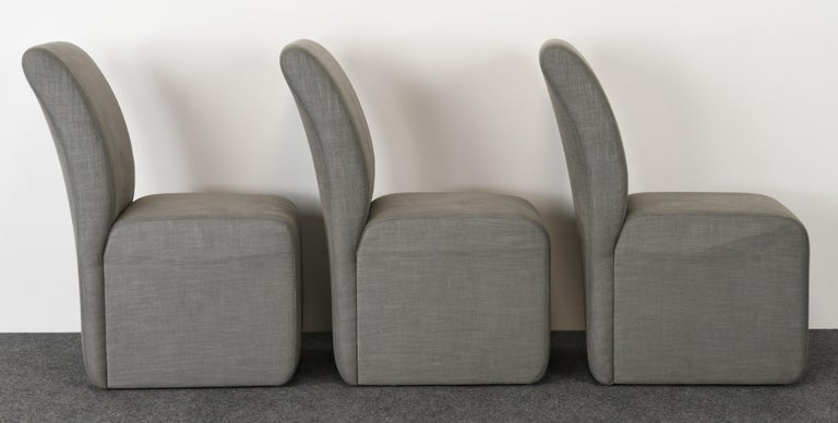 Set of Six Paul Evans Dining Chairs, 1982 In Good Condition For Sale In Hamburg, PA