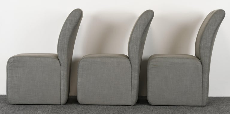 Set of Six Paul Evans Dining Chairs, 1982 For Sale 2
