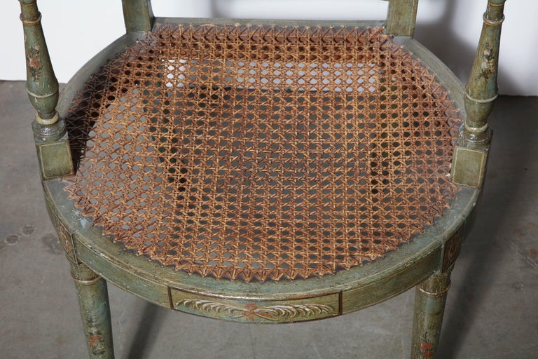 Set of Six Regency Armchairs For Sale 8