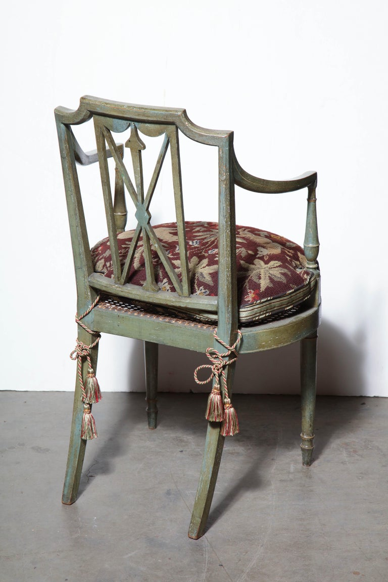 Set of Six Regency Armchairs In Good Condition For Sale In New York, NY