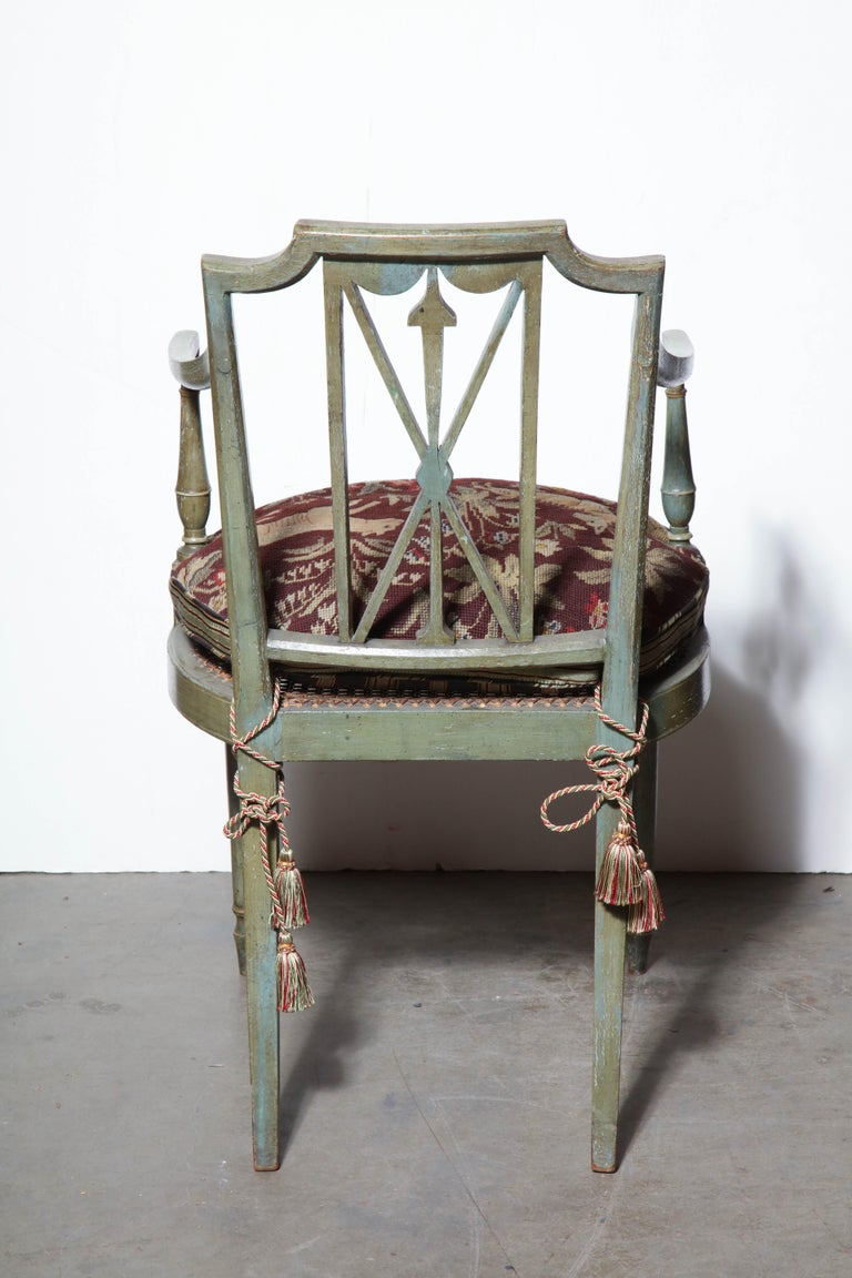 Early 19th Century Set of Six Regency Armchairs For Sale