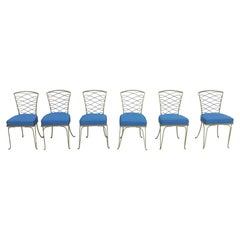 Set of Six Rene Prou Dining Room Chairs