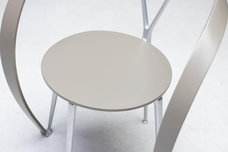 Set of Six Revers Chairs by Andrea Branzi for Cassina In Good Condition In Dronten, NL