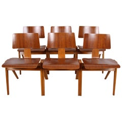 Set of Six Robin Day Designed Dining Chairs