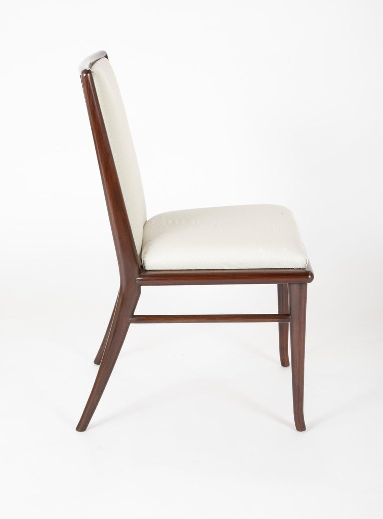 Set of Six Robsjohn-Gibbings Dining Chairs For Sale 3