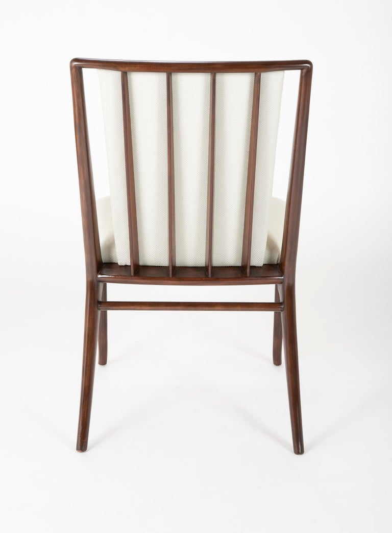 Set of Six Robsjohn-Gibbings Dining Chairs For Sale 4