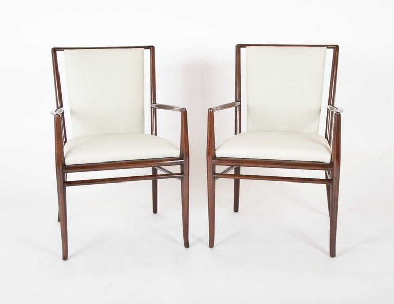 Set of Six Robsjohn-Gibbings Dining Chairs In Good Condition For Sale In Stamford, CT