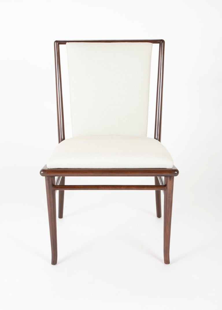 20th Century Set of Six Robsjohn-Gibbings Dining Chairs For Sale