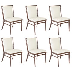 Set of Six Robsjohn-Gibbings Dining Chairs