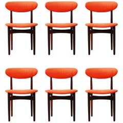 Set of Six Dining Chairs by Scantic Furniture, 1960s
