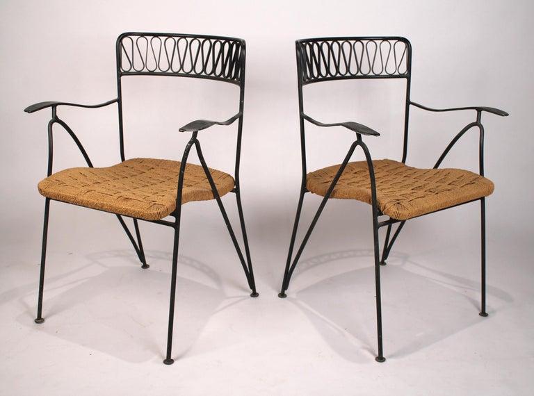 Italian Set of Six Salterini Chairs by Maurizio Tempestini For Sale