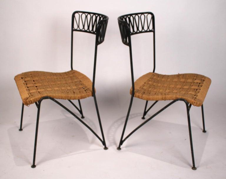 Set of Six Salterini Chairs by Maurizio Tempestini In Good Condition For Sale In Dallas, TX