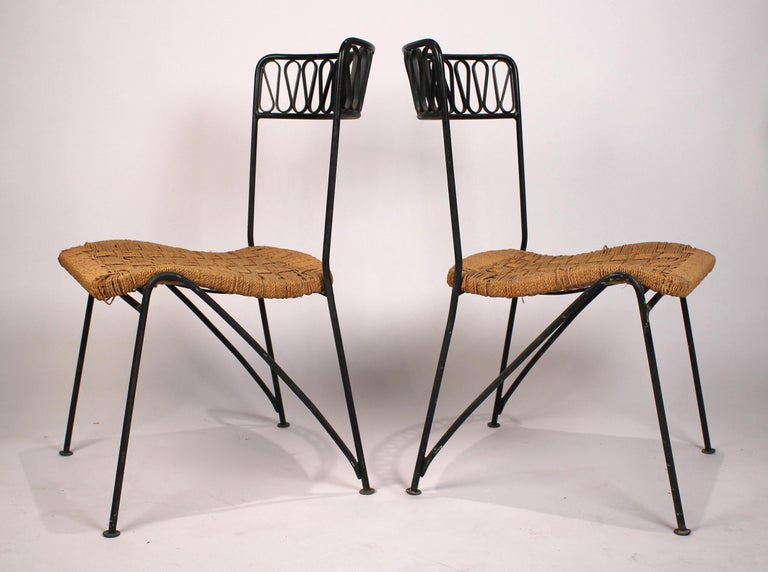 20th Century Set of Six Salterini Chairs by Maurizio Tempestini For Sale