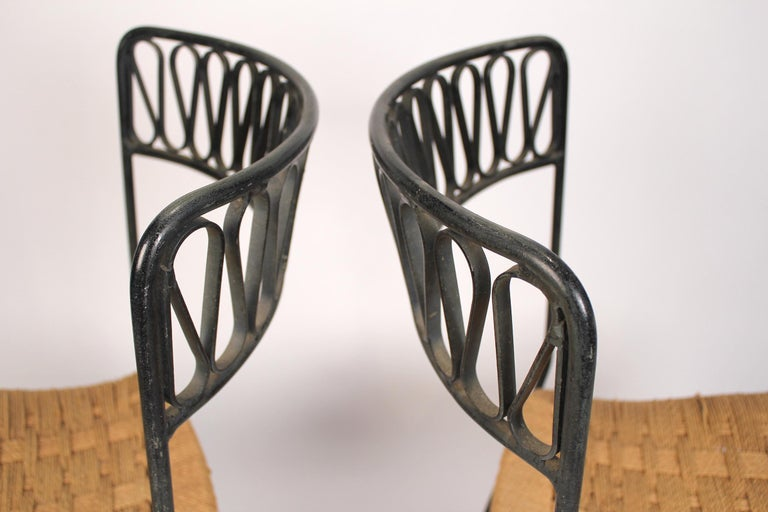 Set of Six Salterini Chairs by Maurizio Tempestini For Sale 1