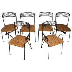Set of Six Salterini Chairs by Maurizio Tempestini