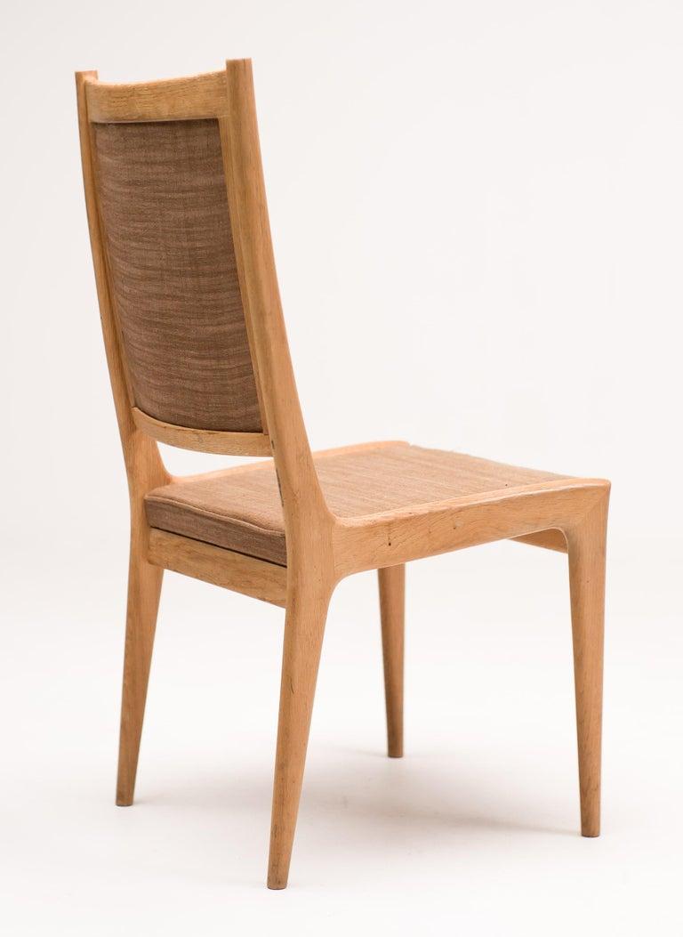 Scandinavian Modern Set of Six Scandinavian Dining Chairs by Karl Erik Ekselius for JOC For Sale