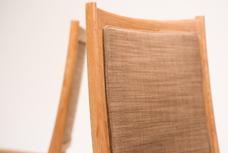 Set of Six Scandinavian Dining Chairs by Karl Erik Ekselius for JOC In Good Condition For Sale In Dronten, NL