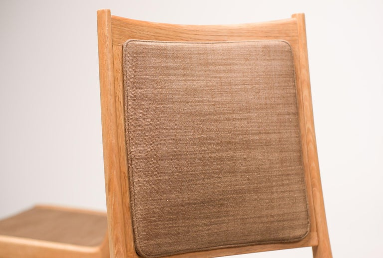 Mid-20th Century Set of Six Scandinavian Dining Chairs by Karl Erik Ekselius for JOC For Sale