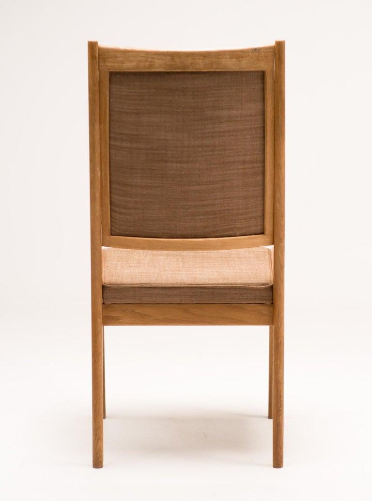 Set of Six Scandinavian Dining Chairs by Karl Erik Ekselius for JOC For Sale 2