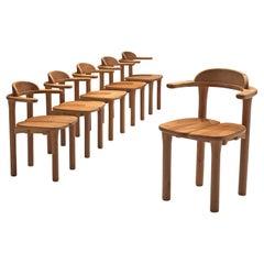 Set of Six Scandinavian Dining Chairs
