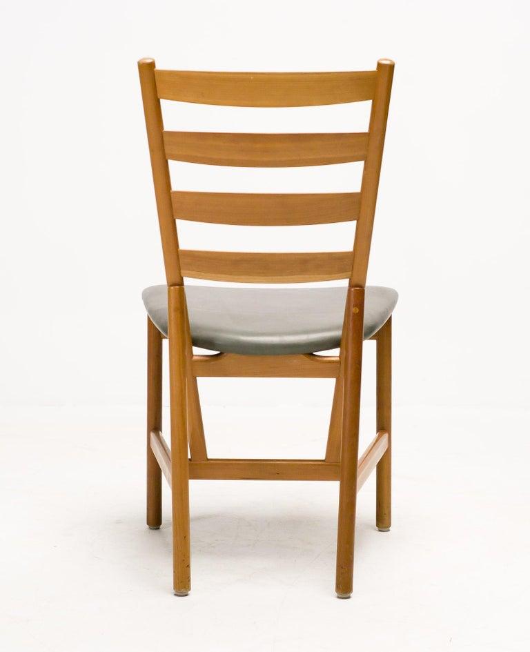 Set Of Six Scandinavian Shaker Chairs At 1stdibs