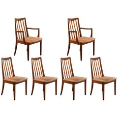 "Set of Six Side chairs ""Model EVA"" by Niels Kofoed, Denmark, 1960s"