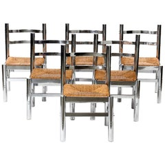 Set of Six Silla Mexico by Diego Matthai