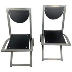 Set of Six Sinus chairs by KFF