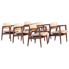 Six Modernist Armchairs by Gunlocke