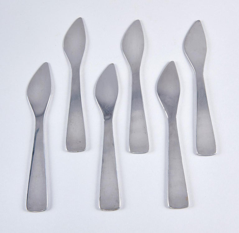 Modern Set of Six Spreaders by Gio Ponti For Sale