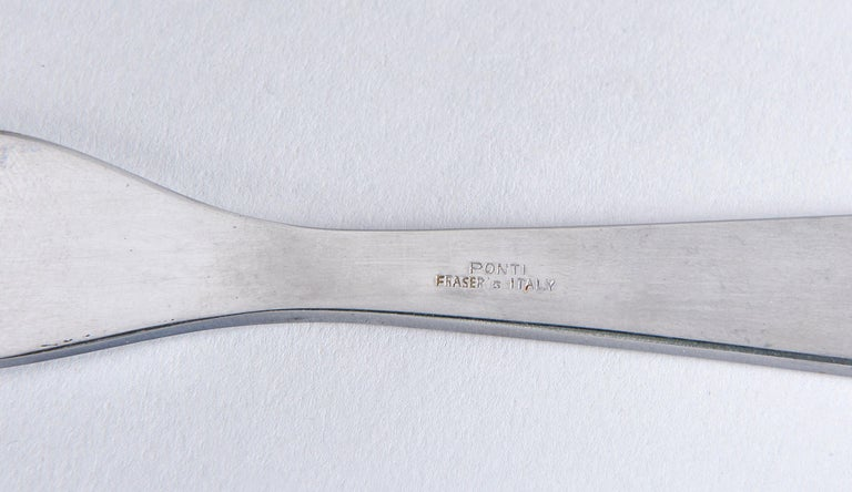 Italian Set of Six Spreaders by Gio Ponti For Sale