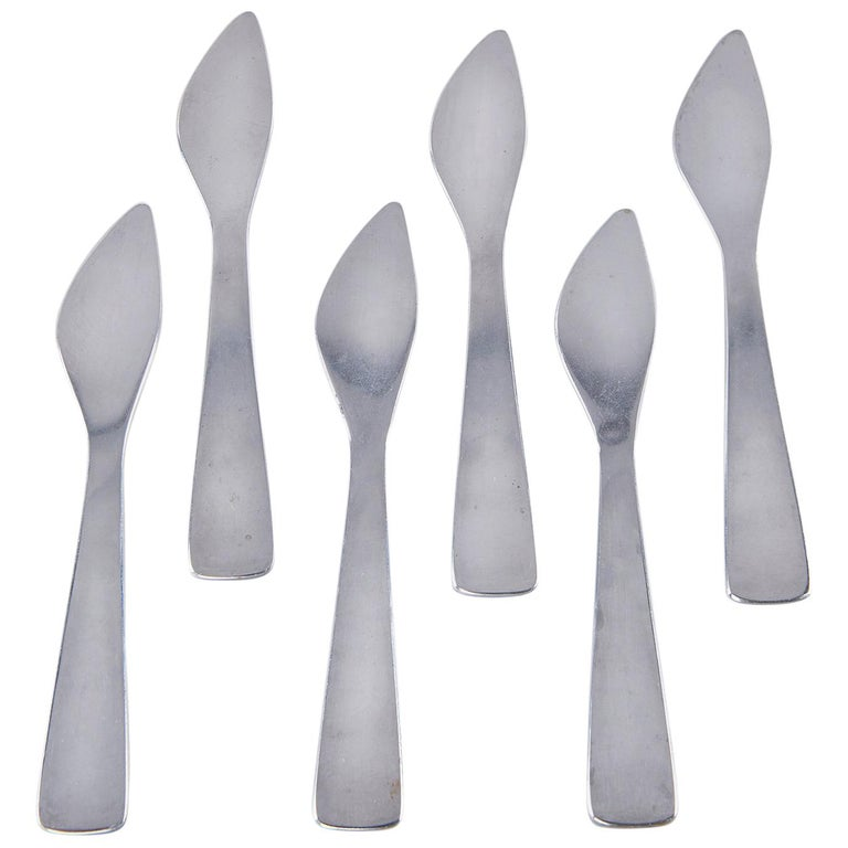 Set of Six Spreaders by Gio Ponti For Sale