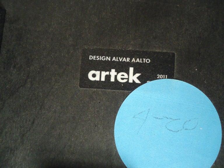 Set of Six Stools by Artek For Sale 1