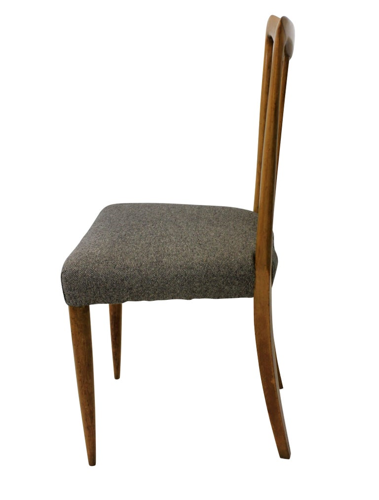 Set of Six Stylish Italian Dining Chairs In Good Condition In London, GB